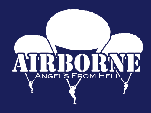 "T-Shirt ""Airborne - Angels From Hell"""