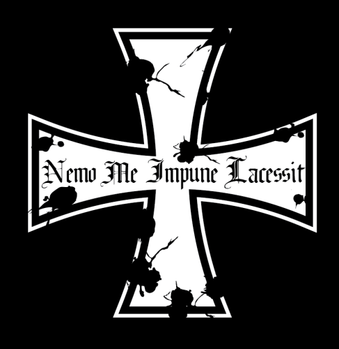 "T-Shirt ""Nemo Me Impune Lacessit - Iron Cross"""