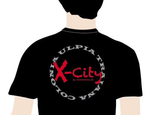 "X-City exklusiv Polo Shirt ""CUT"""